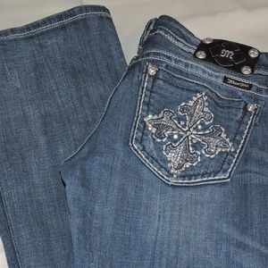 MISS ME JEANS   BOOT CUT   SIZE 29/34